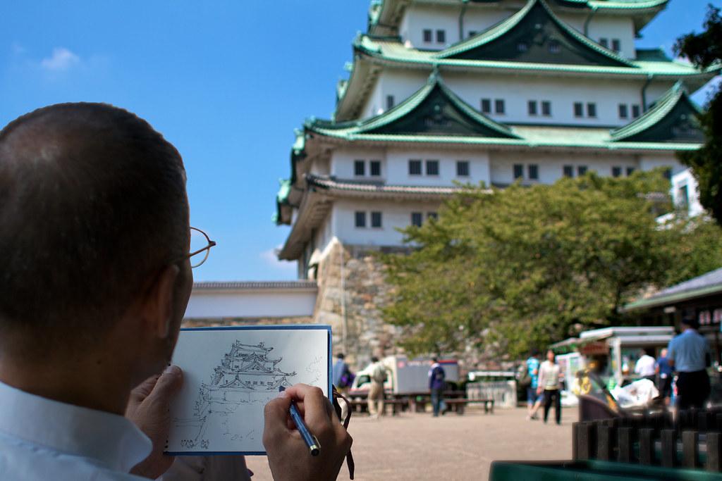 Nagoya Castle Artist