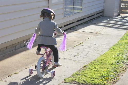 Amelia's bike