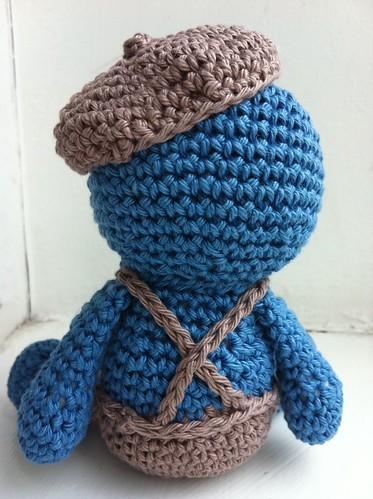 Horge - crochet creature 2