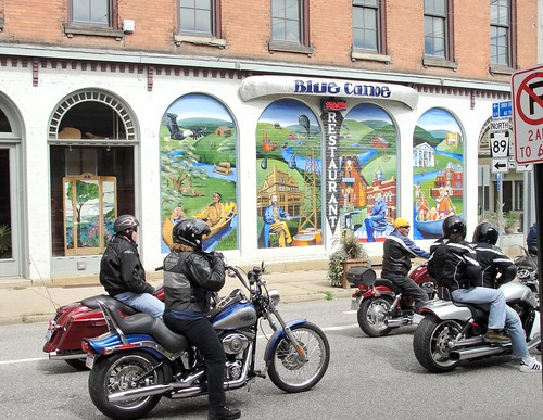 Blue Canoe Bikers