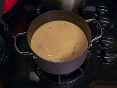 Apple Oktoberfest Cheese Soup