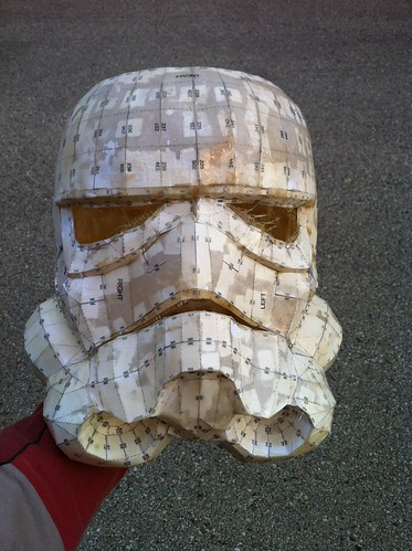 Stormtrooper Helmet Pepakura