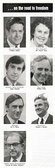 SNP Candidates October 1974 General Election (Scottish Political Archive) Tags: party 1974 scotland jones election general scottish stewart national independent publicity campaign mcrae candidates scots wolfe edmonds mcintyre bayne snp october1974