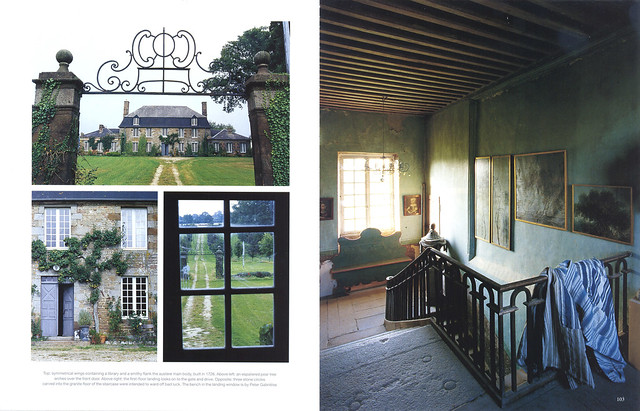 "Le Château in ""World of Interiors"" 2004 July issue- 2"