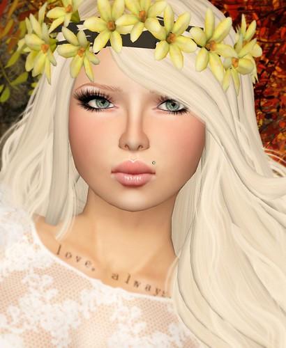 Swallowtail Flower Crown