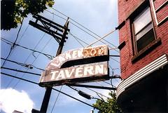 Lakewood Tavern - NJ (verplanck) Tags: film newjersey jerseycity 1999 oldsign ghostsign lakewoodtavern