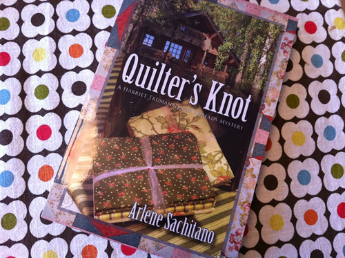 Got my copy of Quilter's Knot signed at the Expo!