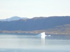 DSCN4615 (k_joelsen326) Tags: sea mountains greenland oceans ports harbors icebergs colorfulhouses qaqortoq