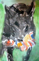 Pelle (Kleckerlabor) Tags: art animal illustration print kunst fineart fine moderne prints knstler malerei gemlde kunstmarkt realismus fineartprint zeitgenssische bildende kunstdruck kunstmaler kunstbilder