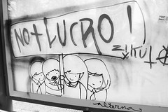 (alterna ) Tags: chile santiago centro nios nia septiembre boba intervencion dibujo ilustracion transantiago alterna alternativa 2011 superboba alternaboba 22septmarcha