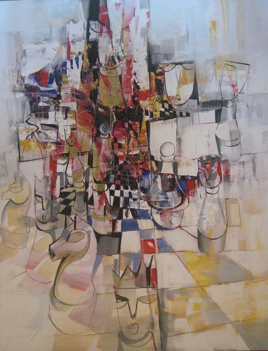 Your Move - Painting - Cubism
