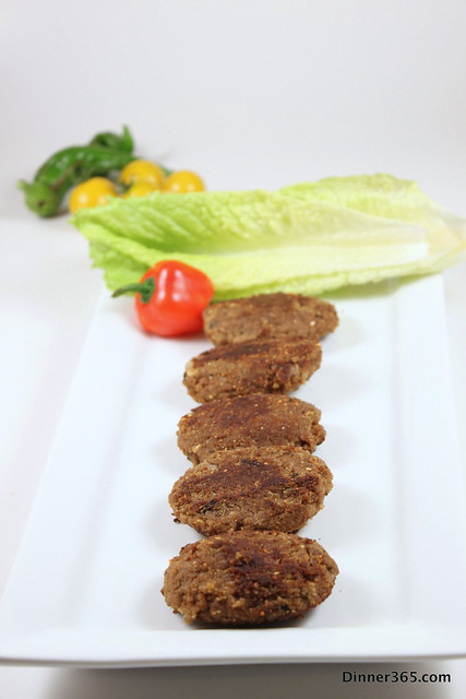 Day 266 - Shaami Kabab or Ground Beef Cutlet