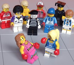 Collectible Chaos (Legological) Tags: fight lego humour minifig collectible boxing