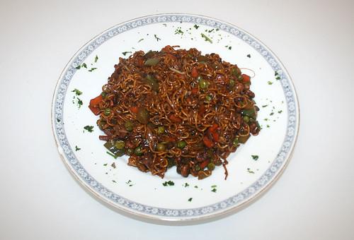 37 - Asiatische Krabbennudeln / Asia shrimps noodles - Fertiges Gericht