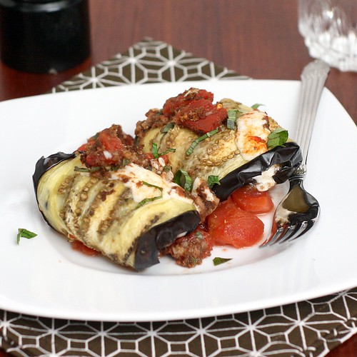 Eggplant Involtino