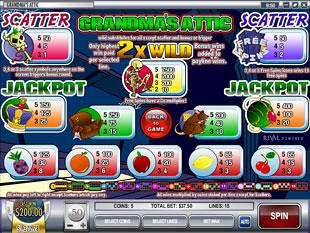 Grandma's Attic Slots Payout