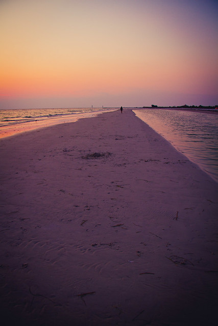 Sunset on the Sand Bar