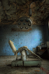 Shady operation ([AndreasS]) Tags: germany surgery urbex lost soviet clinic hospital abandoned forgotten derelict history lamp sick operation urban exploring forbidden canon decay secret nedlagt medical equipment uexplorer forlatt sykehus klinikk trespassing sanatorium old ill enclosed mood buildings location place decayed german ddr berlin eerie creepy desolate russian woods alone left hdr krankenhaus photoxploring grunge forfall compound eye broken neues lager trespass juterbog