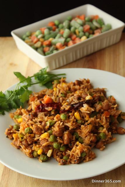 Day  267 - Creamy Veggie Rice