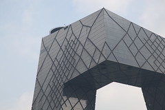 Beijing, CCTV Headquarters (OMA 2008) 06 (J0N6) Tags: beijing remkoolhaas  oma olescheeren beijingarchitecture officeformetropolitanarchitecture cctvheadquarters chinacentraltelevisionheadquarters 44story 33formerlypublic33