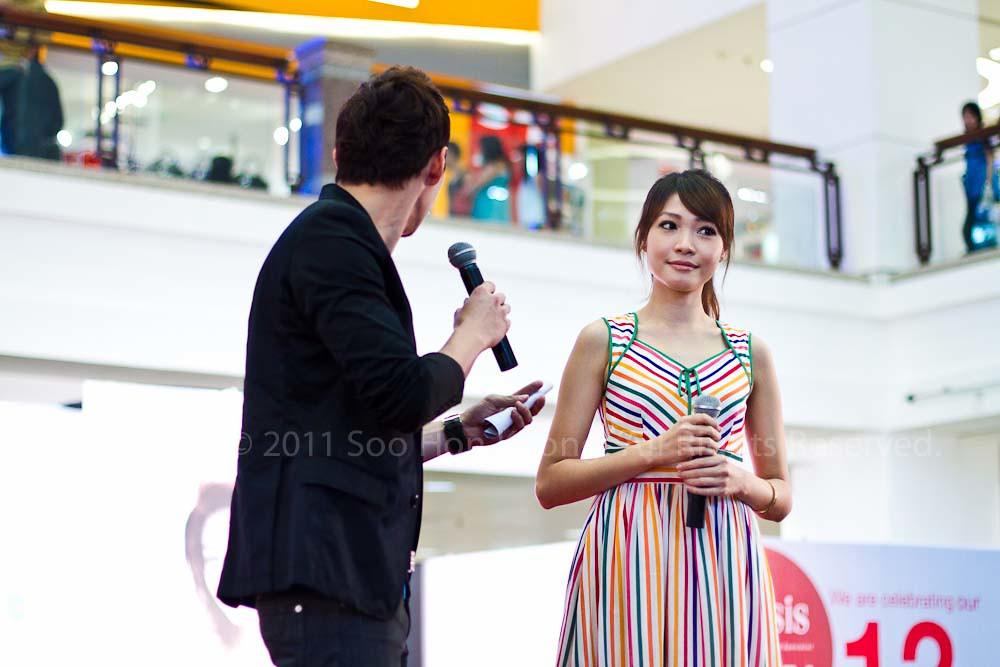 Dawn Yeoh @ Berjaya Times Square, KL, Malaysia