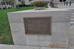 Western Kentucky University in front of Henry Harding Cherry Hall (King Kong 911) Tags: art history statue museum buildings campus cabin map near kentucky ky displays marker abrahamlincoln wku bowlinggreenky