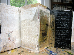 lace_chair_lullaby (bgmills) Tags: workinprogress collaboration bookart motherlove