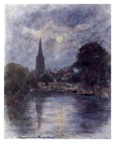 005-Abingdon-The Thames-1906- Mortimer Menpes