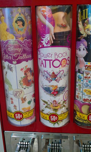 Tramp stamps for kids?