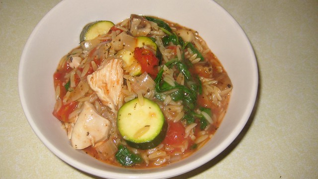 2011-09-25 Chicken Orzo Stew 019