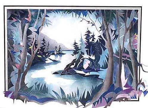 West Coast Canada - Painting - Original