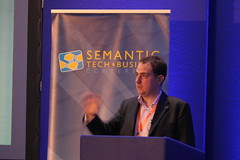 Steve Harris speaking at SemTechBiz UK 2011