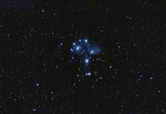 The Pleiades M45 24 September 2011 (BudgetAstro) Tags: nikond70 astrophotography m45 astronomy opencluster sevensisters dss pleiades 55200mmf456g deepskystacker Astrometrydotnet:status=solved Astrometrydotnet:version=14400 Astrometrydotnet:id=alpha20110952339627