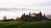 the mansion (Dennis_F) Tags: morning italien italy mist green nature beautiful fog zeiss sunrise landscape dawn spring italia mood nebel view sony country hill landwirtschaft natur hills silence tuscany cypress grün agriculture fullframe dslr toscana valdorcia landschaft hilly cypresses stimmung stimmungsvoll frühling 135mm morgens toskana sicht hügel ruhe zypressen 13518 a850 sonyalpha sonydslr vollformat cz135 zeiss135 トスカーナ州 тоскана dslra850 sonya850 sonyalpha850 alpha850 tuscien sony135 sonycz135