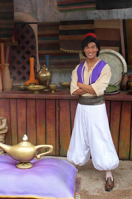 Meeting Aladdin