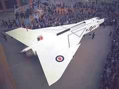 Arrow30 Avro Arrow Rollout October 4, 1957 (Sudbury2Malton) Tags: lancaster boeing douglas malton avro dehavilland mcdonnelldouglas victoryaircraft avroe nationalsteelcar maltonontario avroarrowavro