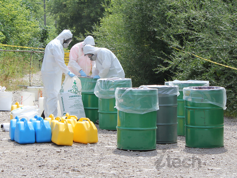 Drug Lab Waste Clean Up