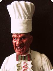 Bon appetit bitch! (kibblesthepig) Tags: street halloween toy child action 5 dream figure horror nightmare elm freddy krueger
