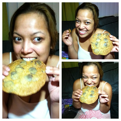 auntie em's flat cookie