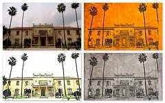 Palace at Jacarilla (Shirl581) Tags: collage picasa palace jacarilla befunky