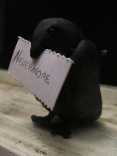 Alice's raven, with a message