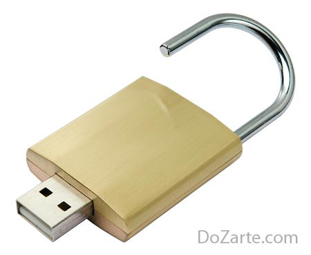 Computer con lucchetto USB