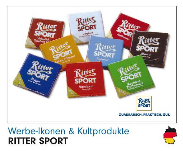Ritter Sport Werbe-Ikone Panini-Bild