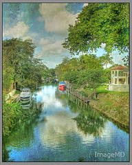 Alhambra Canal (ImageMD) Tags: texture canal florida miami alhambra hdr coralgables