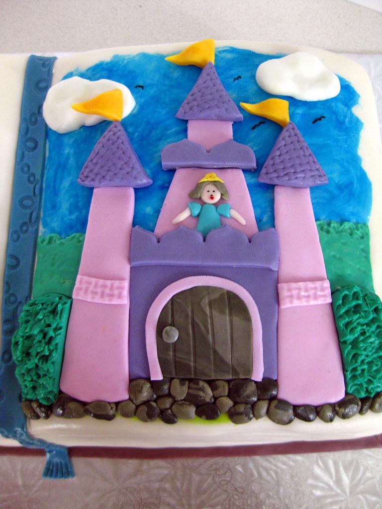 Storybook Fairytale cake