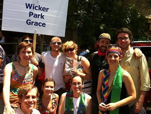 Wicker Park Grace at Pride, 2011