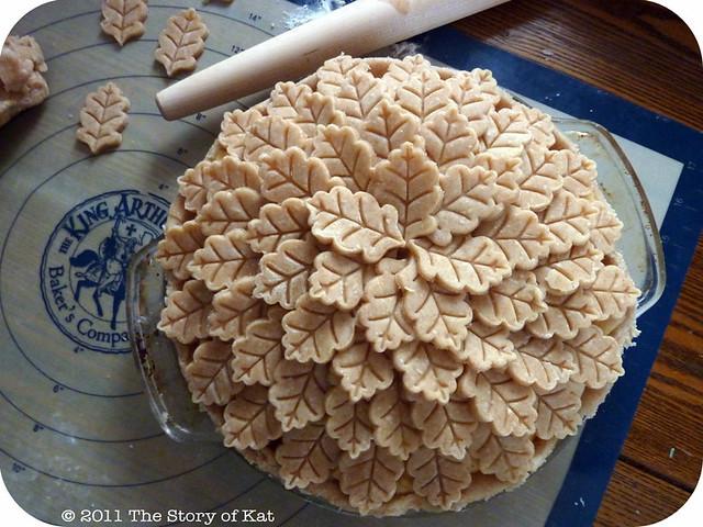 Leaf pie