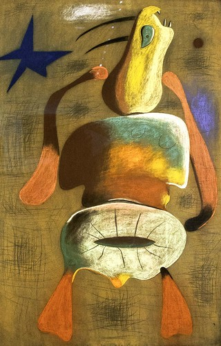 Joan Miró: Woman by unbearable lightness