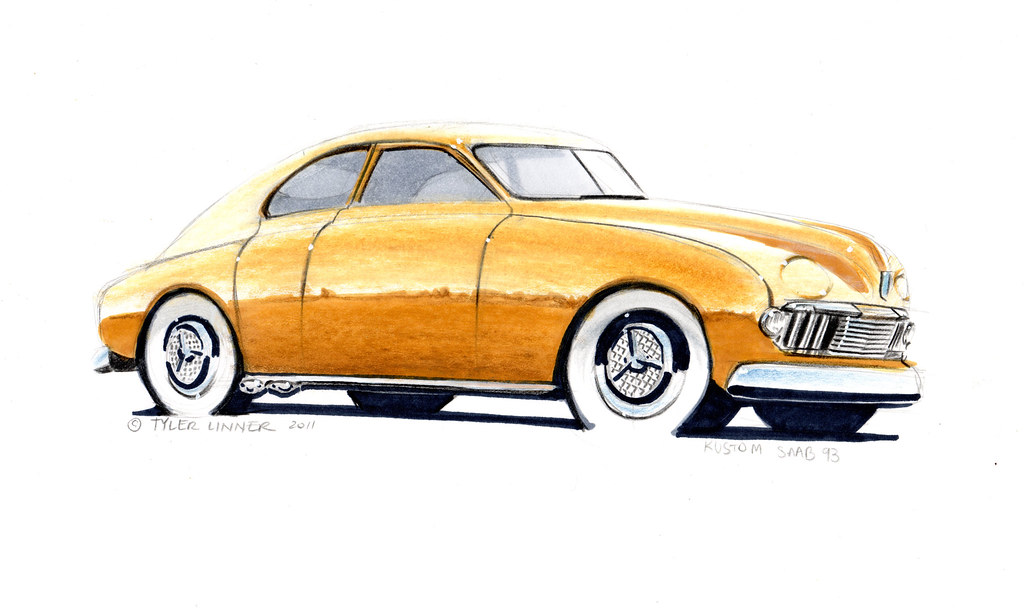 Kustom Saab 93