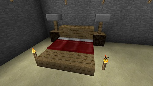 poster bed by peniel789 on flickr - Minecraft Design Ideas